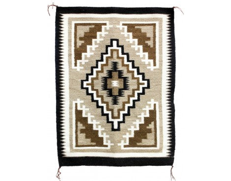 Lucy Simpson, Two Grey Hills, Navajo Handwoven, 25