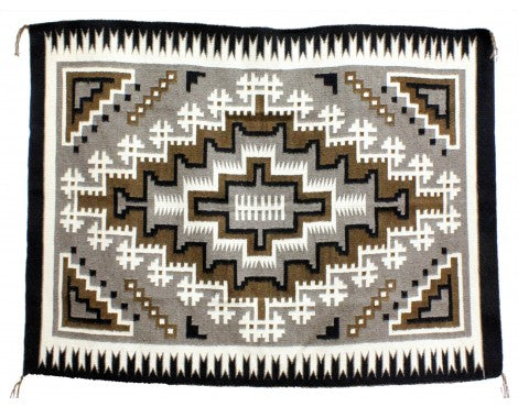 Lucy Simpson, Two Grey Hills, Navajo Handwoven, 43