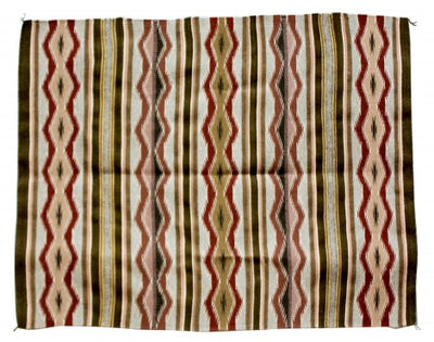 "Load image into Gallery viewer, Erma Francis, Wide Ruins Rug, Navajo Handwoven, 34 3/4""x 52 1/2"""