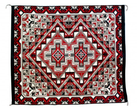 Joe Van Winkle, Ganado Red, Navajo Handwoven, 50