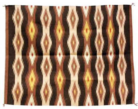 Betty Clyde, Wide Ruins, Navajo Rug Handwoven, 31