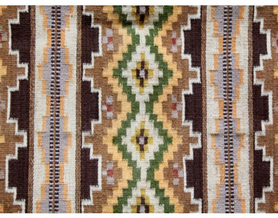 "Load image into Gallery viewer, Mathie Yellowhorse, Wide Ruins, Navajo Handwoven, 27 1/2""x 40"""