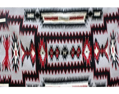 Load image into Gallery viewer, Theresa Begay, Storm Pattern, Navajo Handwoven, 49'' x 64''