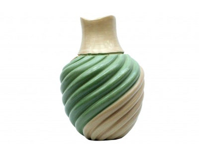 Load image into Gallery viewer, Emma Yepa, Jemez, Pueblo Swirl Pottery, Contemporary, Jar, 7 1/4'' x 5 1/4''