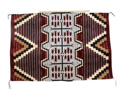 Load image into Gallery viewer, Donald Yazzie, Navajo Chief Blanket, Handwoven, 47'' x 70''