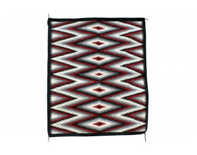 Load image into Gallery viewer, Marlene Begay, Eye Dazzler Rug, Navajo Handwoven, 40 1/2'' x 34 1/2''