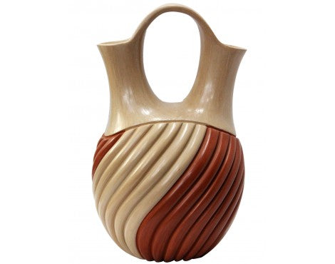 Emma Yepa, Jemez, Wedding Vase, 12 x 6 1/2
