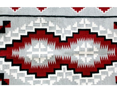 "Load image into Gallery viewer, Louise Yazzie, Klagatoh Navajo Rug, Handwoven, 38""x 70"""