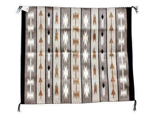 Stanley Benn, Navajo Feather Pictorial, Handwoven, 35