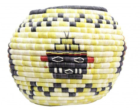 Irene Lomayaktewa (interview), Hopi Coil Basket, Kachine, Crow heads, 7 1/2