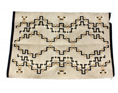Load image into Gallery viewer, Betty Gilmore, Eye Dazzler Rug, Navajo Handwoven, 32 in x 48 in