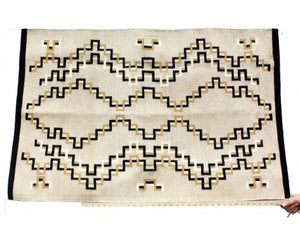 Betty Gilmore, Eye Dazzler Rug, Navajo Handwoven, 32 in x 48 in
