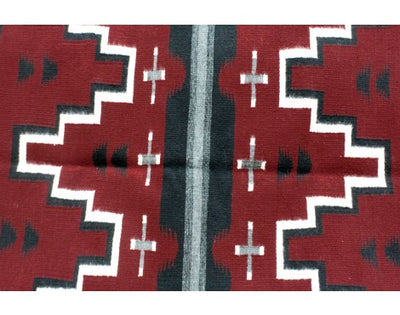 Load image into Gallery viewer, Janet Begay, Cheif Pattern Rug, Navajo Handwoven, 29 in x 32 in