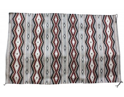 Load image into Gallery viewer, Donald Woods, Wide Ruins Rugs, Navajo Handwoven, 47 in x 74 in