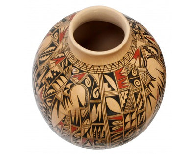Load image into Gallery viewer, Antoinette Honie, Hopi Pottery, Handmade, 11 in x 8.5 in