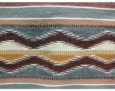 "Load image into Gallery viewer, Erma Francis, Wide Ruins, Navajo Rug Handwoven, 34"" x 44"""