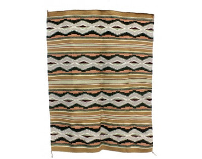 "Load image into Gallery viewer, Michelle Francis, Wide Ruins, Navajo Rug Handwoven, 32"" x 43"""