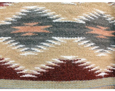 "Load image into Gallery viewer, Marlynn Francis, Wide Ruins Rug, Navajo Handwoven, 33"" x 42"""