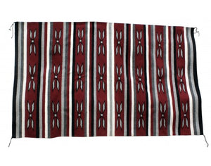 Leta Williams, Wide Ruins, Navajo Rug Handwoven, 42in x 68in