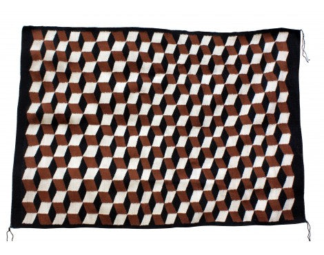 Alice Begay, Eye Dazzler Rug, Navajo Handwoven, 36.5in x 53in