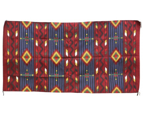 Marlene White, Cheif Pattern, Large Rug, Navajo Handwoven, 106in x 55in