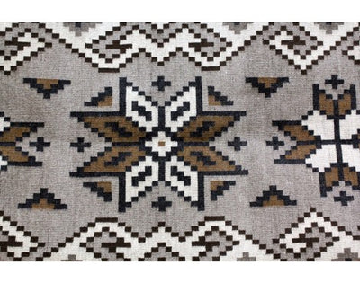 Load image into Gallery viewer, Maggie Elthel, Two Grey Hills Rug, Navajo Handwoven, 78.5in x 35.5in