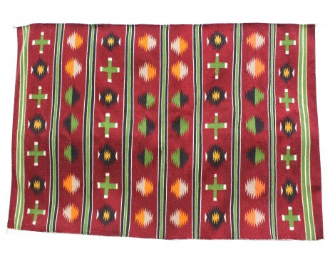 Zonnie Deschine, Chinle Rugs, Navajo Handwoven, 50.5in x 72in