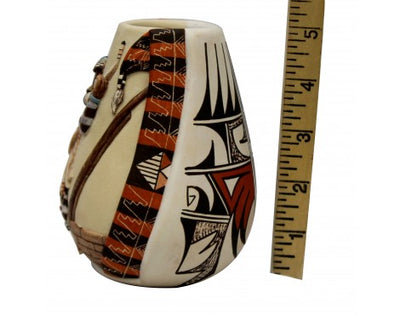 Load image into Gallery viewer, Harrison Jim, Hopi Design Pottery, Handmade, 5 in x 3.75 in