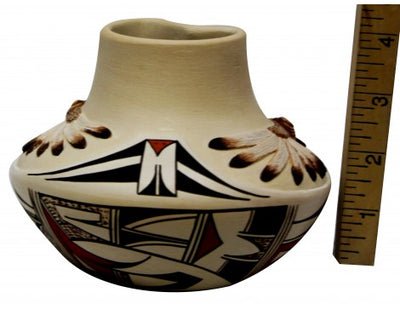 Load image into Gallery viewer, Harrison Jim, Hopi Design Pottery, Handmade, 4 in x 5.5 in