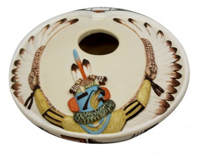 Load image into Gallery viewer, Harrison Jim, Hopi Design Pottery, Handmade, 2.75 in x 5 in