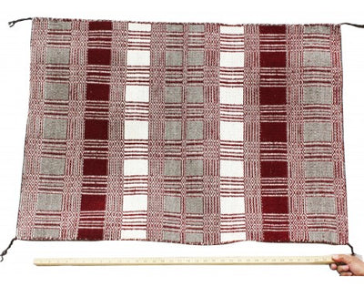 Load image into Gallery viewer, Virgina Snyder, Saddle Blanket, Two Faced, Navajo Handwoven, 40 in x 28 in