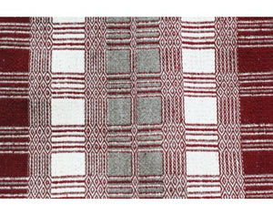 Virgina Snyder, Saddle Blanket, Two Faced, Navajo Handwoven, 40 in x 28 in