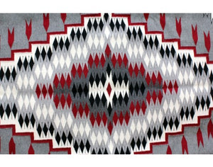 Theresa Begay, Ganado Red Rug, Navajo Handwoven, 71in x 56in