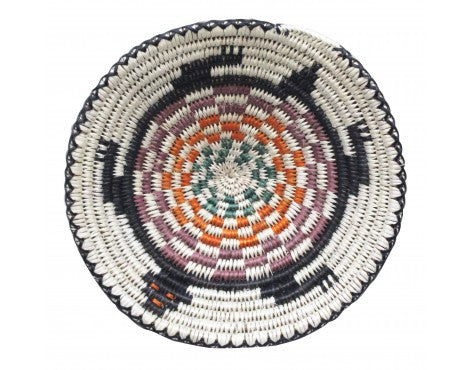 Anna Gray, Navajo Coiled Plaque, Turtle,  Handmade, 11 in Dia.
