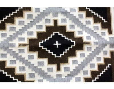 Load image into Gallery viewer, Mareitta Begaye, Two Grey Hills, Navajo Handwoven Rug, 30in x 40in