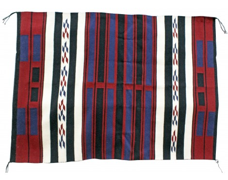 Shirley Sandoval, Cheif Rug, Navajo Handwoven, 63in x 45in
