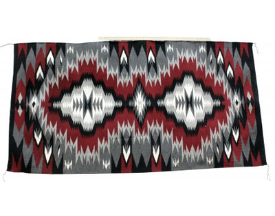 Load image into Gallery viewer, Sonya Dempsey, Eye Dazzler Rug, Navajo Handwoven, 77in x 40in