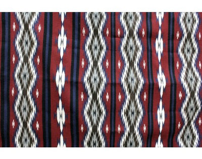 Load image into Gallery viewer, Bernice Bia, Eye Dazzler Rug, Navajo Handwoven, 63in x 49in