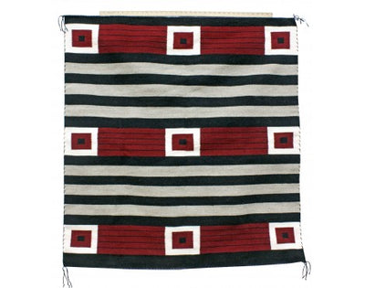Load image into Gallery viewer, Bernice Largo,  Cheif Rug, Navajo Handwoven, 48in x 50in