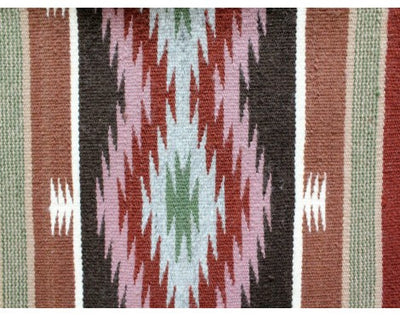 "Load image into Gallery viewer, Betty Clyde, Wide Ruins, Navajo Rug Handwoven, 48"" x 72"""