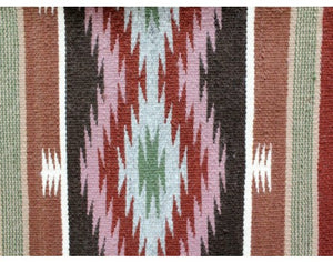"Betty Clyde, Wide Ruins, Navajo Rug Handwoven, 48"" x 72"""