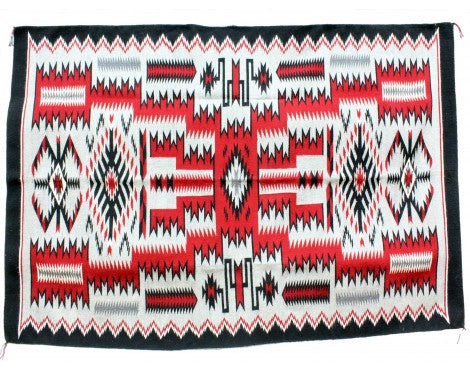 Angela Williams, Storm Pattern, Navajo Handwoven, 88