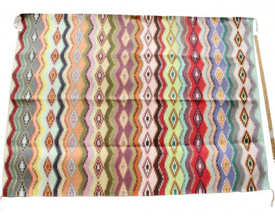 "Load image into Gallery viewer, Abigail Smallcanyon, Wide Ruins Rug, Navajo Handwoven, 76"" x 50"""