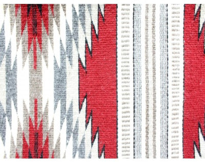 "Load image into Gallery viewer, Donald Wood, Eye Dazzler Rug, Navajo Handwoven, 46"" x 74"""