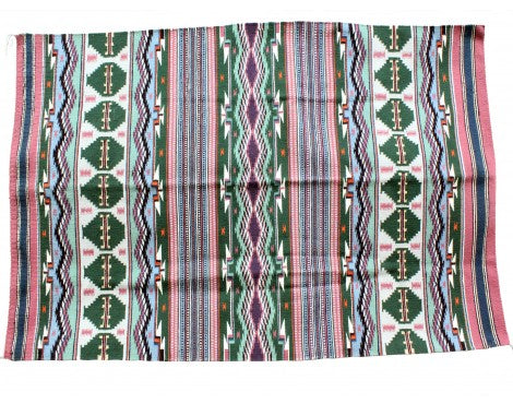 Leonard Sam, Bright Wide Ruins, Navajo Handwoven, 39 1/2