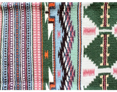 "Load image into Gallery viewer, Leonard Sam, Bright Wide Ruins, Navajo Handwoven, 39 1/2"" x 62 1/2"""