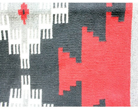 Rose Tsinnie, Ganado Red Runner, Navajo Handwoven, 47