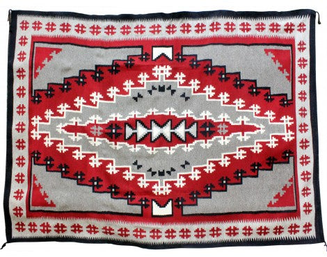 Mary Lou Bee, Ganado Red, Navajo Handwoven, 105