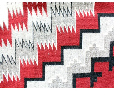 "Load image into Gallery viewer, Marie Yazzie, Ganado Red, Navajo Handwoven, 48 1/2"" x 71"""