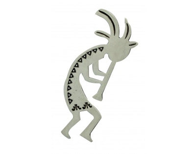 Load image into Gallery viewer, Darrell Cadman, Pendant, Sterling Silver, Kokopelli, Navajo Handmade, 2.5 in